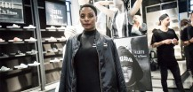 Nikeata Thompson at the PUMA FENTY launch in Berlin-Mitte