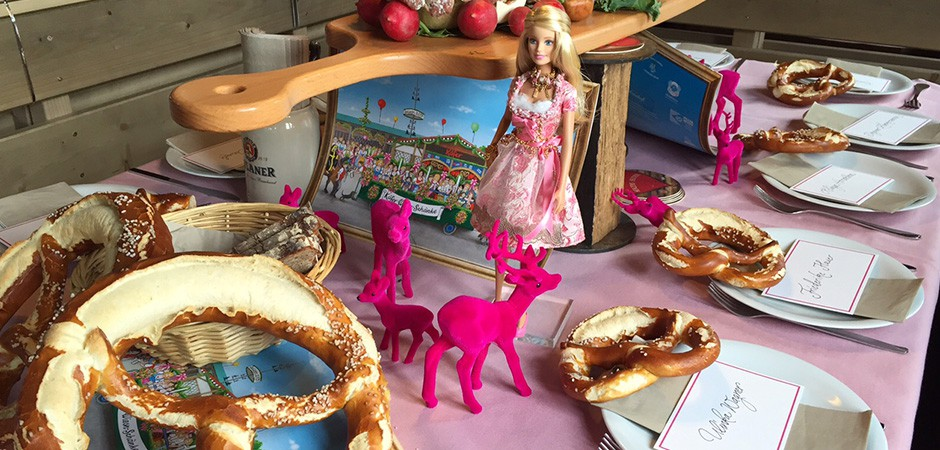 Barbie Pink Wiesn Reichert+ Communications