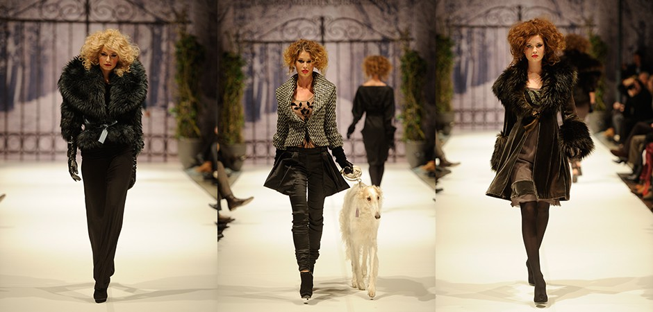 Boulevard d'hiver Fashion Show AW11 MBFW
