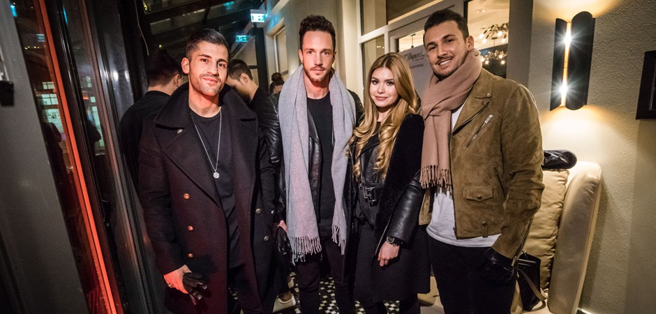 Enjoylife Winter Event Hotel am Steinplatz. Magicfox, Sandro, Kosta Williams andPamela Reif