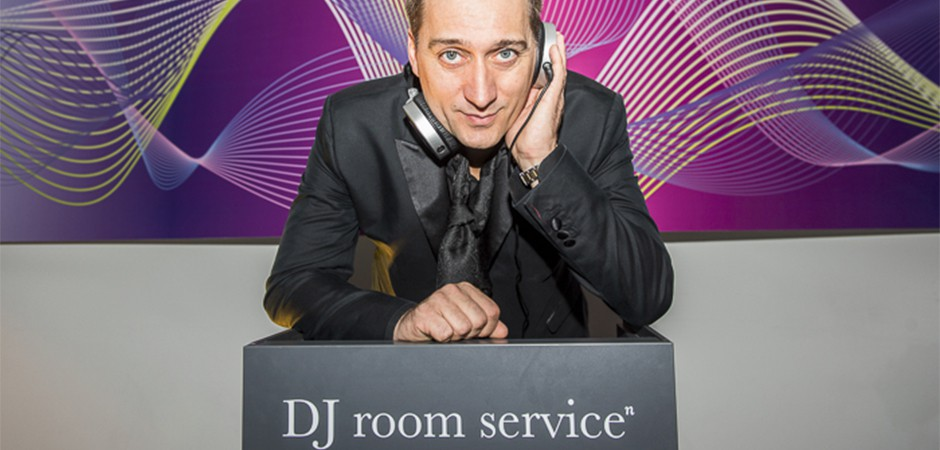 Launch event of the DJ Roomservice with Paul van Dyk