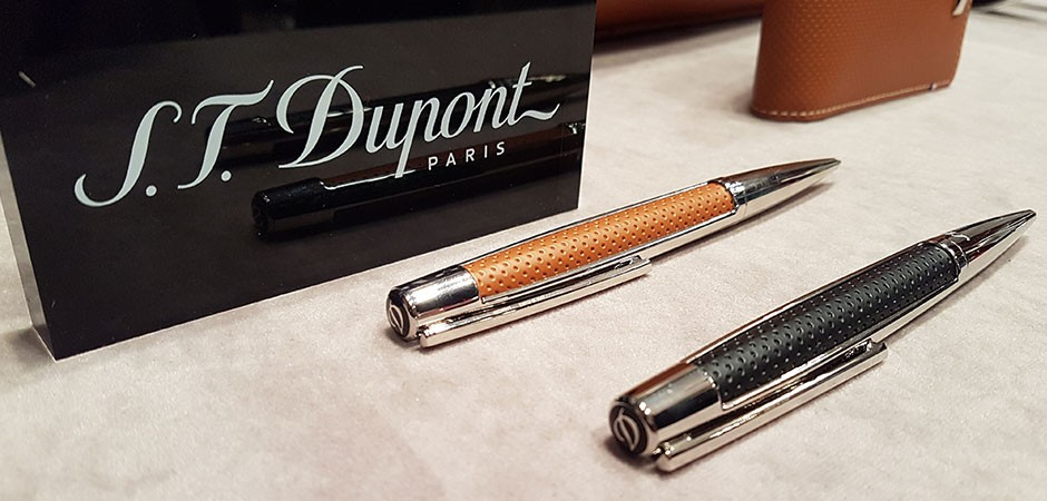 S.T. Dupont Paris press days