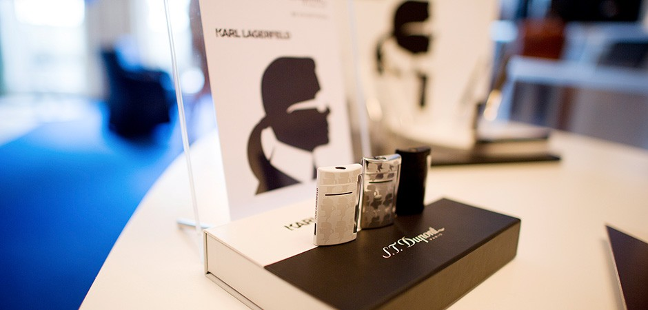 S.T.Dupont presents its design-cooperation with Karl Lagerfeld