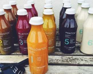 PrivateDetoxBox offers 100% organic juices